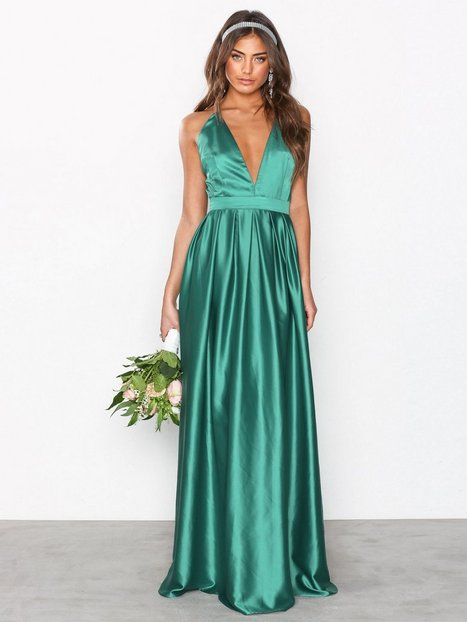 Thin Strap Ball Gown - Nly Eve - Green - Party Dresses - Clothing ...