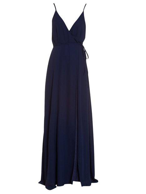 Thin Strap Flowy Gown