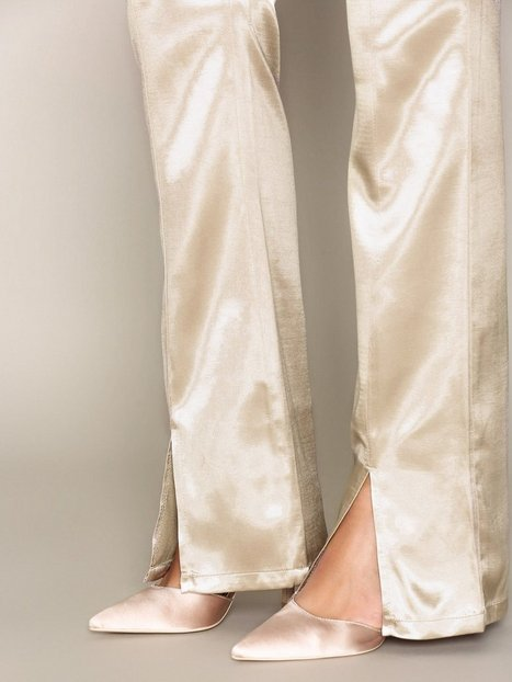 Shaped Satin Pants