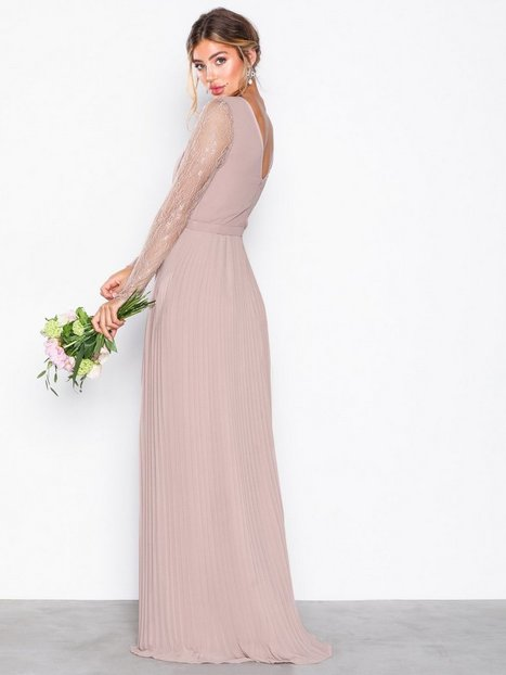 Lace Insert Gown
