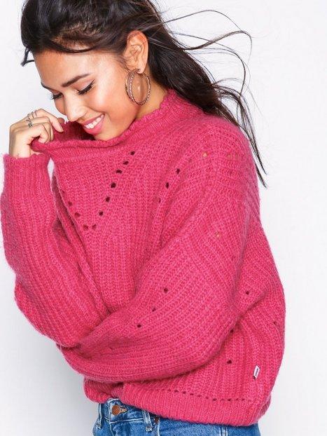 Billede af Wrangler Crop Knit Strikkede trøjer Bright Rose