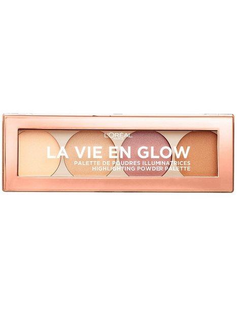 Billede af L'Oréal Paris La Vie En Glow - Highlighting Powder Palette Contouring & Strobing