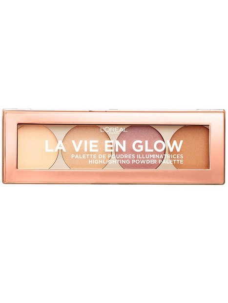 Billede af L'Oréal Paris La Vie En Glow - Highlighting Powder Palette Contouring & Strobing Sunrise