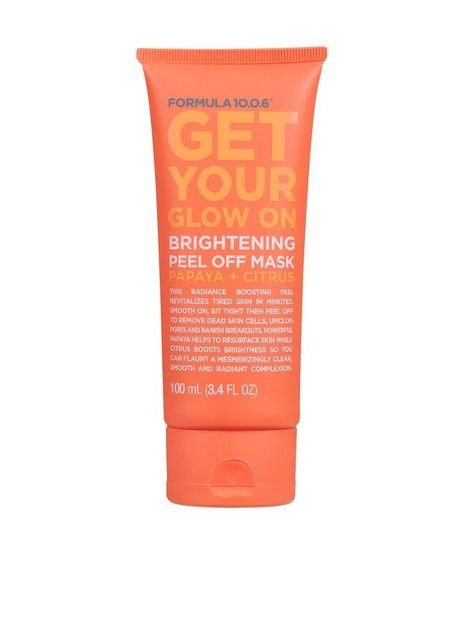 Formula 10.0.6 Get Your Glow On 100ml Ansiktsmasker