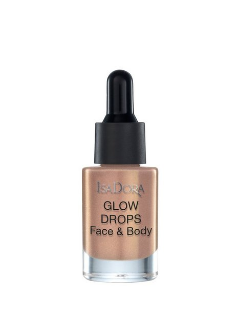 Billede af Isadora Glow Drops Face & Body Highlighter Golden
