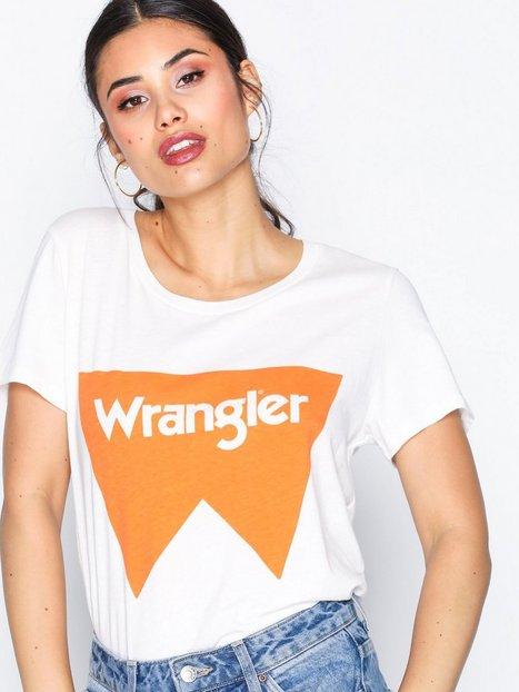 Billede af Wrangler Festival Tee T-shirt Tangerine