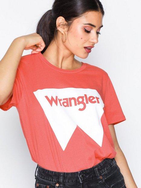 Billede af Wrangler Festival Tee T-shirt Spiced Coral