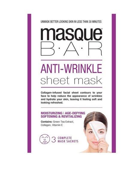 Billede af masque B.A.R Anti-Wrinkle Sheet Mask Ansigtsmaske Transparent
