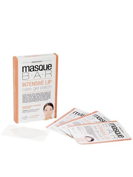 Billede af masque B.A.R Intensive Lip Care Gel Patch Læbepleje Transparent