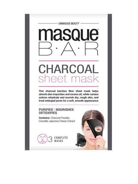 Billede af masque B.A.R Charcoal Sheet Mask Ansigtsmaske Sort
