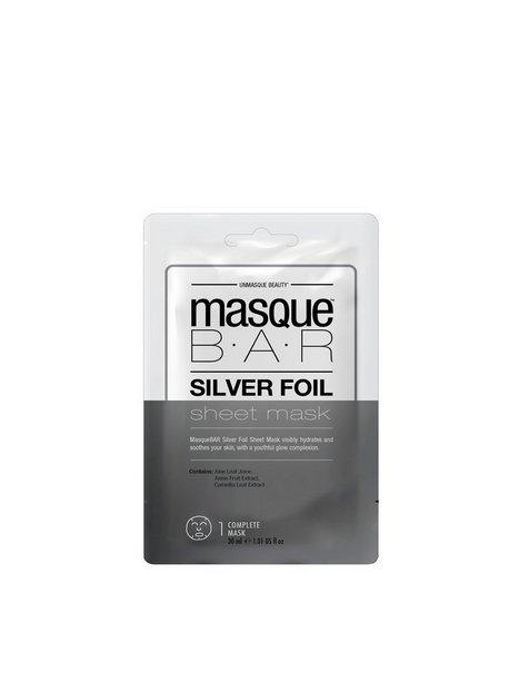 Billede af masque B.A.R Foil Masque Silver Sheet Mask Ansigtsmaske Sølv