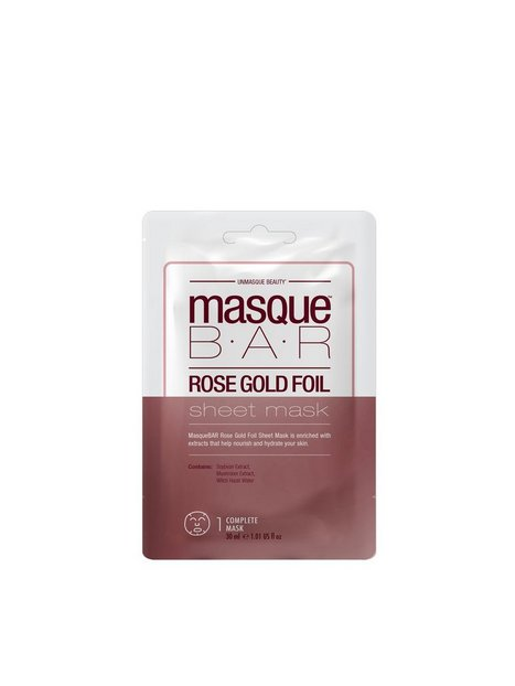 Billede af masque B.A.R Foil Masque Rose Gold Sheet Mask Ansigtsmaske Rose Gold