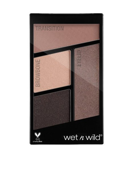 Billede af Wet n' Wild Color Icon Eyeshadow Quads Øjenskygge Silent Treatment