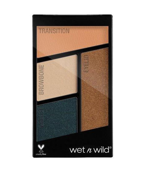 Billede af Wet n' Wild Color Icon Eyeshadow Quads Øjenskygge Hooked on Vinyl