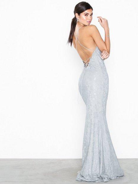 9850bbd27e53 Billede af NLY Eve Lace Strappy Mermaid Gown Tætsiddende kjoler