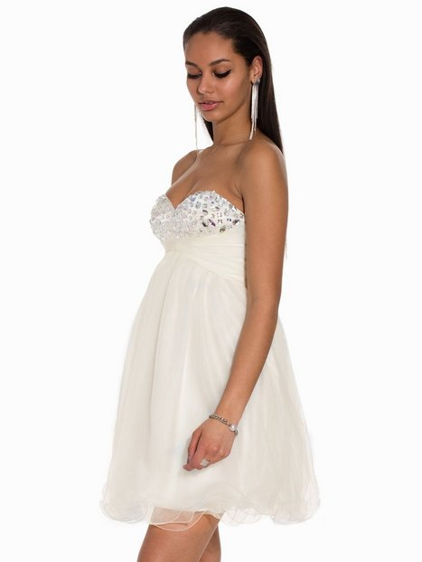 Magic Mini Prom Dress - Nly Eve - White - Party Dresses - Clothing ...