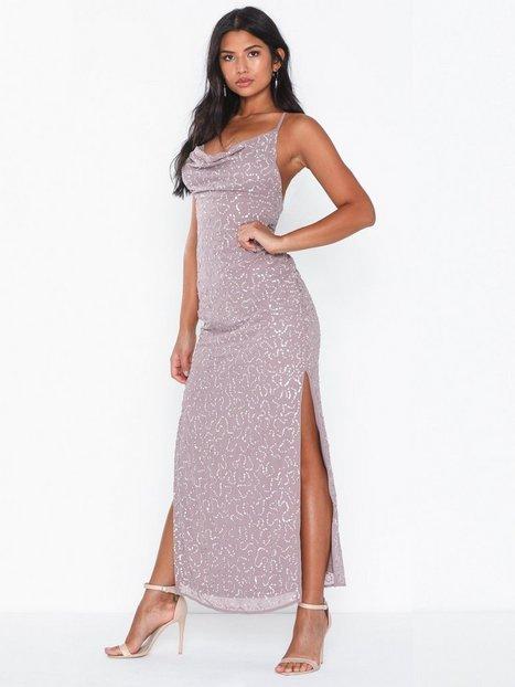 Billede af NLY Eve Beaded Deep Back Gown Tætsiddende kjoler