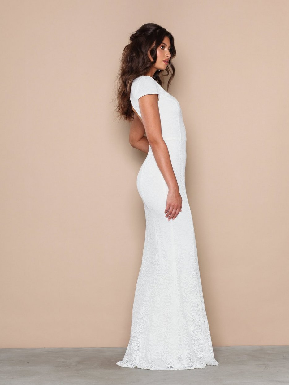 Hvite Nly by Nelly Kjoler på nett | Dame | Kjøp ny kjole