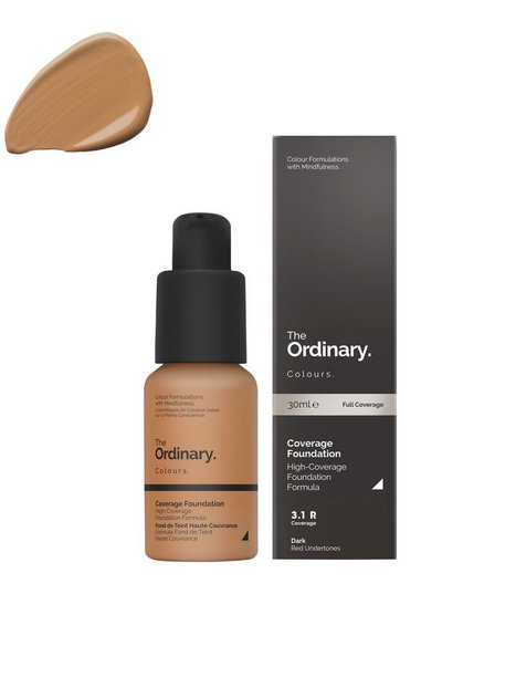 The Ordinary Coverage Foundation 30ml 3.1 R dark Red
