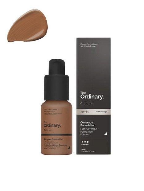 The Ordinary Coverage Foundation 30ml 3.2 R deep Red