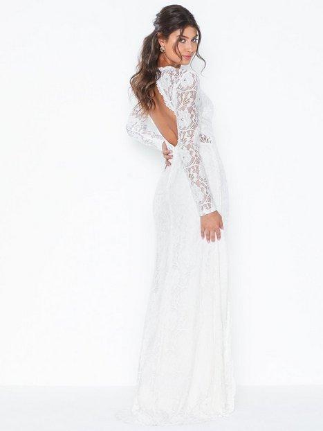 Billede af NLY Eve Rose Lace LS Gown Tætsiddende kjoler