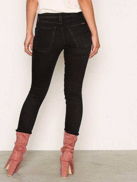 Billede af Nudie Jeans Skinny Lin Black Habit Skinny Black
