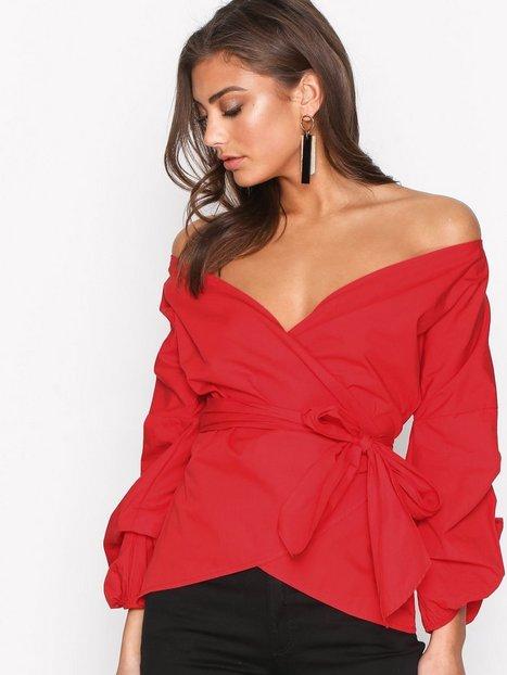 Wrap Shoulder Blouse