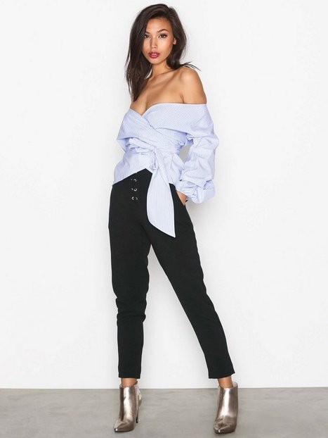 Wrap Shoulder Blouse