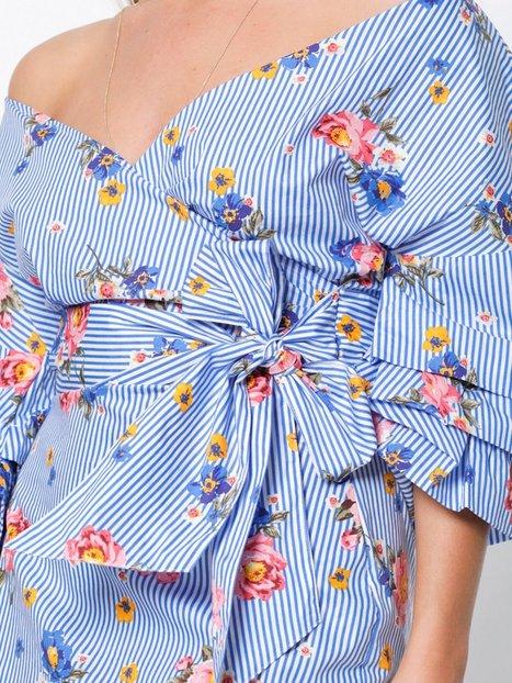 Wrap Shoulder Dress