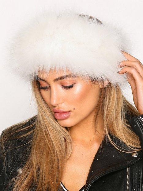 Billede af NLY Accessories Fur Headband Huer Hvid