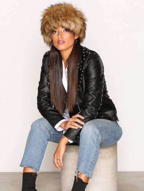 Billede af NLY Accessories Fashion Fur Hat Huer Brun