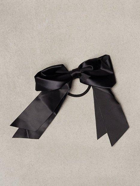 Satin Bow Hair Tie