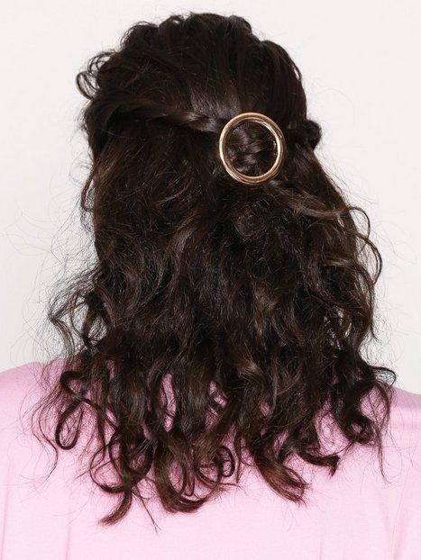 Billede af NLY Accessories Round Hairclip Hårtilbehør Guld
