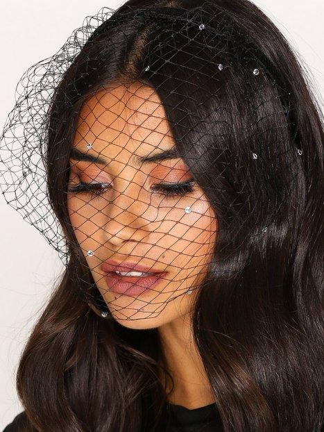 Billede af NLY Accessories Fashion Veil Hårtilbehør Sort