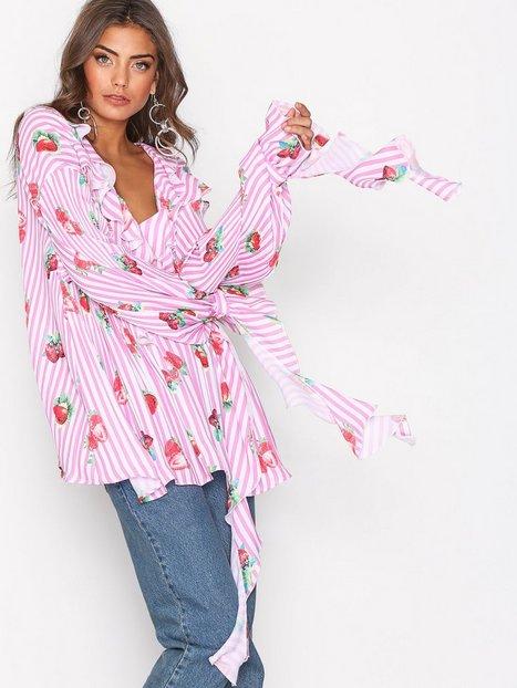 Billede af NLY Trend All Of It Shirt Hverdagsbluser Mønstret