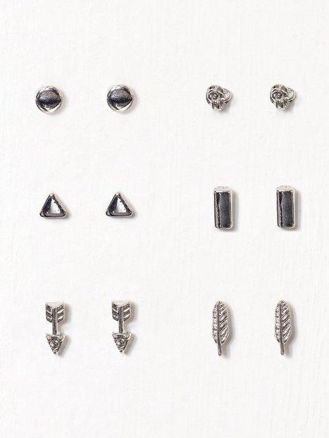 Billede af NLY Accessories Arrow Multipack Earring Ørering Sølv