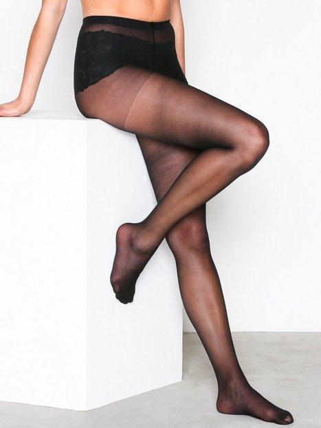 Billede af NLY Lingerie Pretty Legs Tights 15 Den Strømpebukser Sort