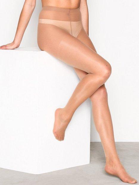 Billede af NLY Lingerie Pretty Legs Tights 15 Den Strømpebukser Suntan