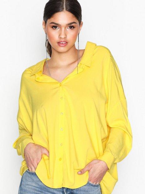 Billede af NLY Trend Oversized Shirt Skjorter Gul