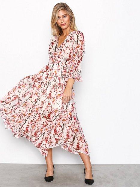 Billede af NLY Trend Asymmetric Midi Dress Maxikjoler Mønstret