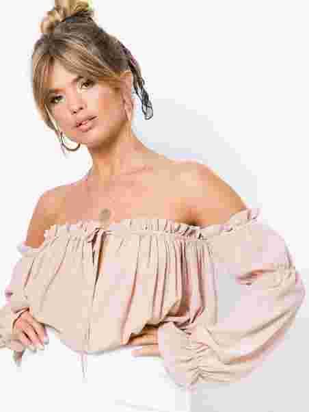 dff679e22d220d Shoppa Soft Off Shoulder Blouse - Online Hos Nelly.com