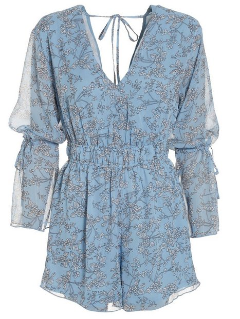 Romantic Sleeve Playsuit