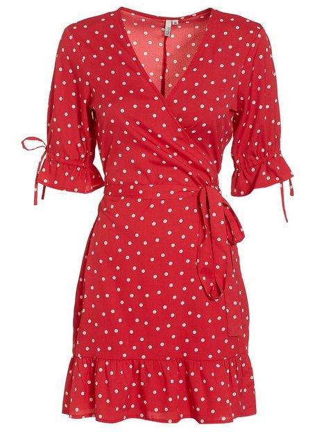 Flirty Wrap Dress