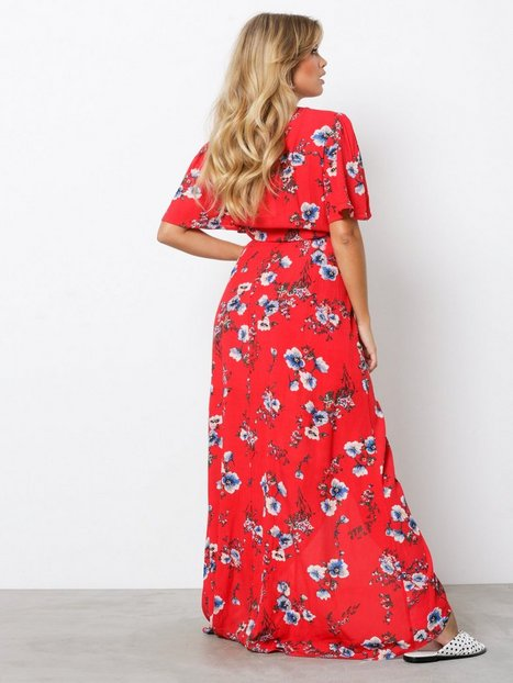 Wrapped Long Dress