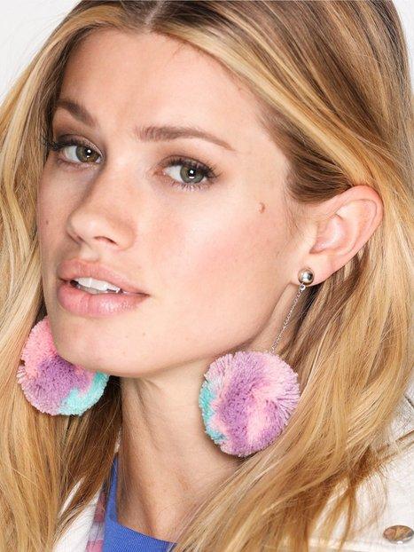 NLY Accessories Pastel Pom Earrings Korvakorut Monivärinen thumbnail