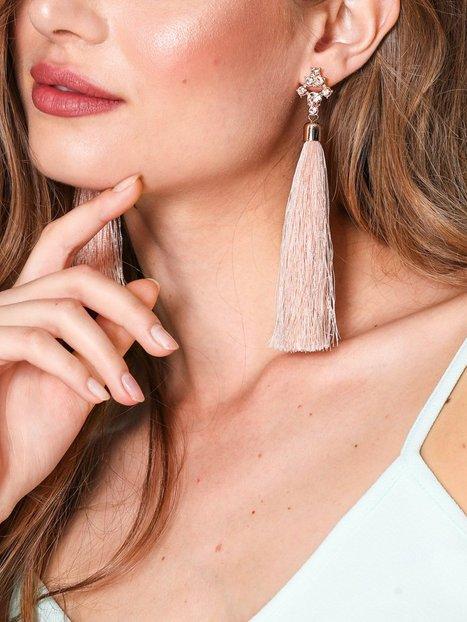 Rhinestone Tassel Earring
