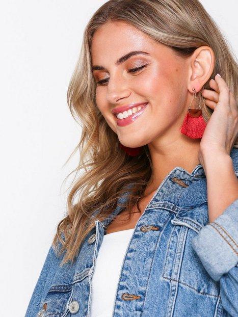 Semi Circle Fringe Earrings