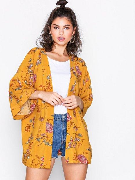 Billede af NLY Trend Summer Kimono Kimonoer Gul Mønstret