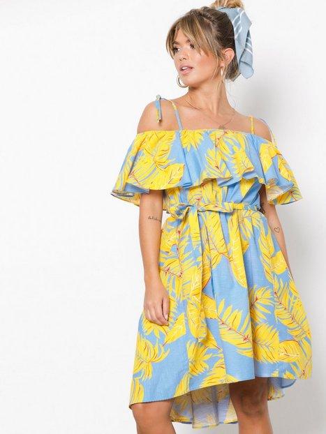 Billede af NLY Trend Belted Frill Dress Loose fit Mønstret