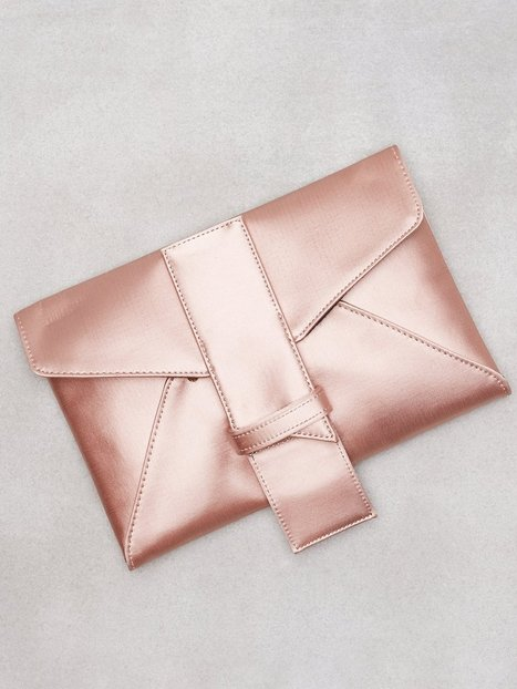Satin Rose Clutch